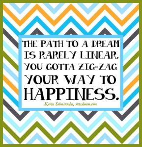 surprises zig zag happiness