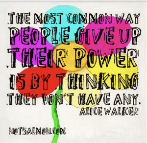 feel powerless quote