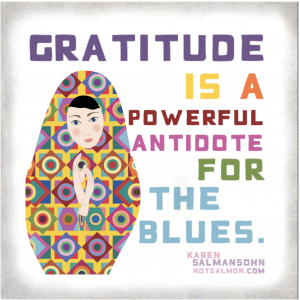 gratitude quotes for when you're blue and sad