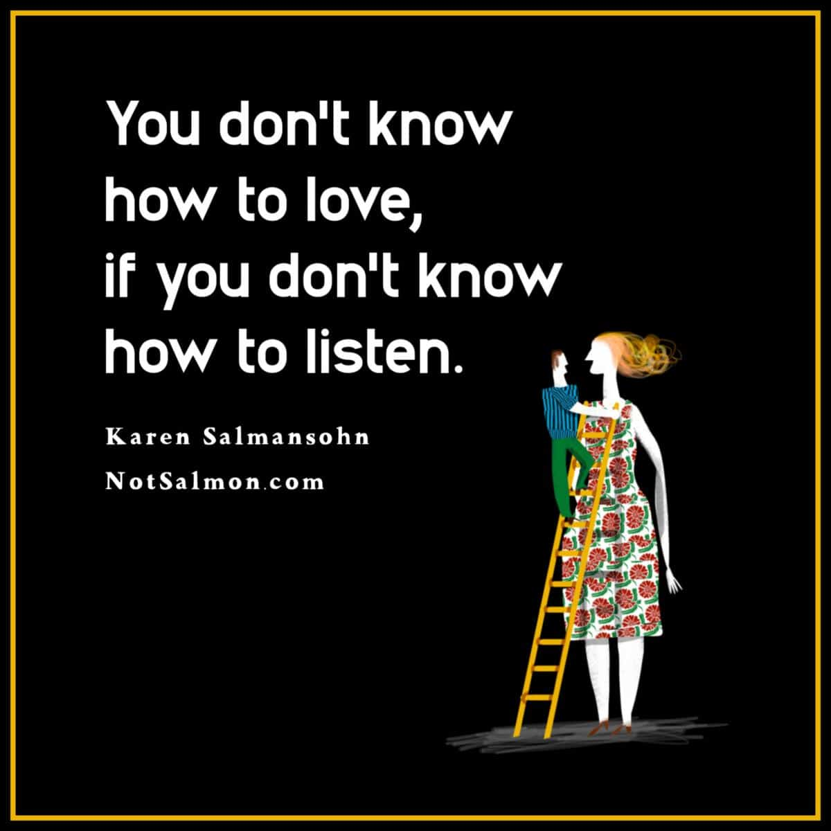 quote dating listening love relationships