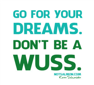 Poster - Don't be a wuss