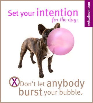 Burst your bubble - Praise - Image