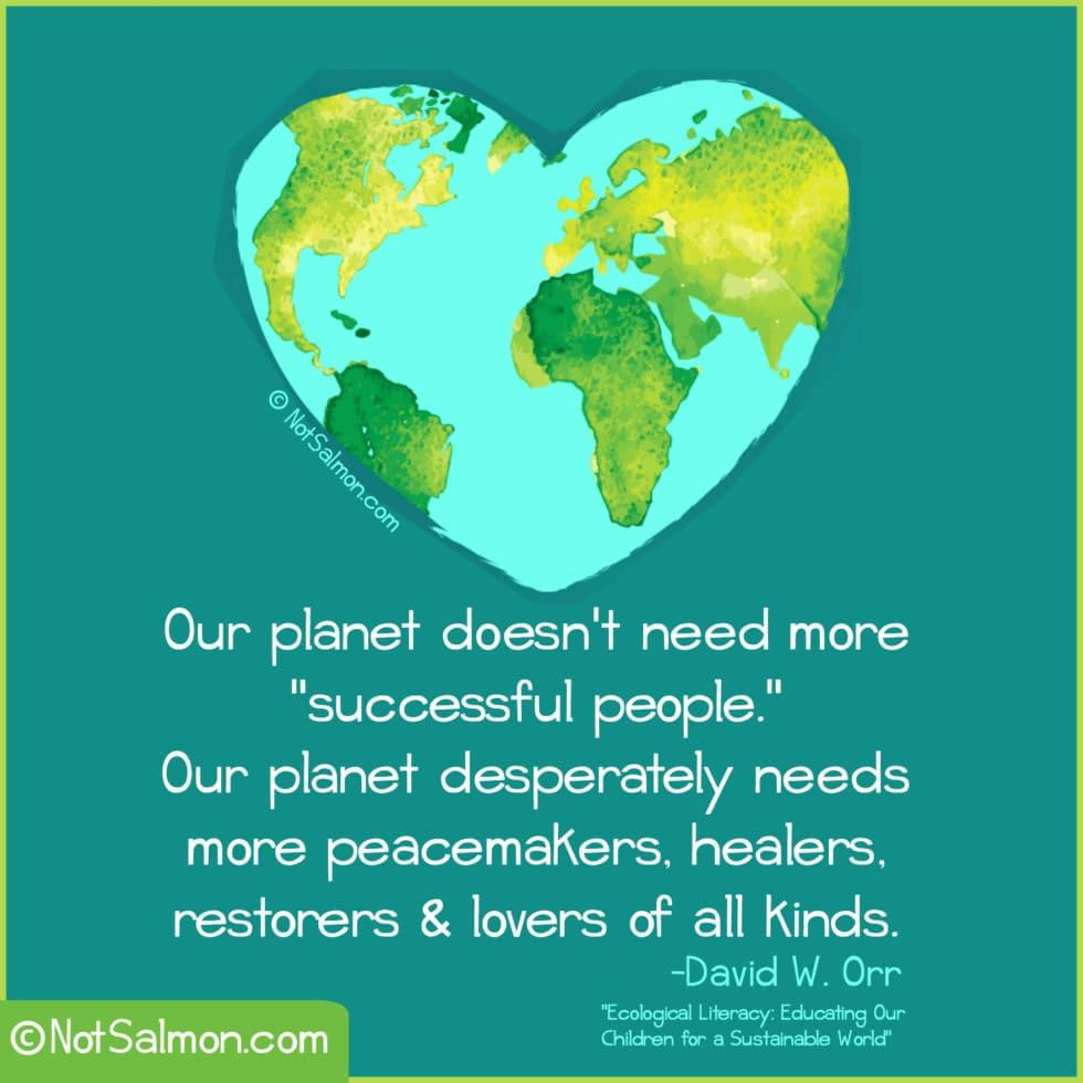 quote planet successful healer DAVID ORR