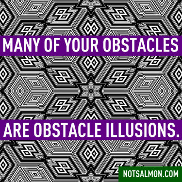 ecard - Obstacle illusions