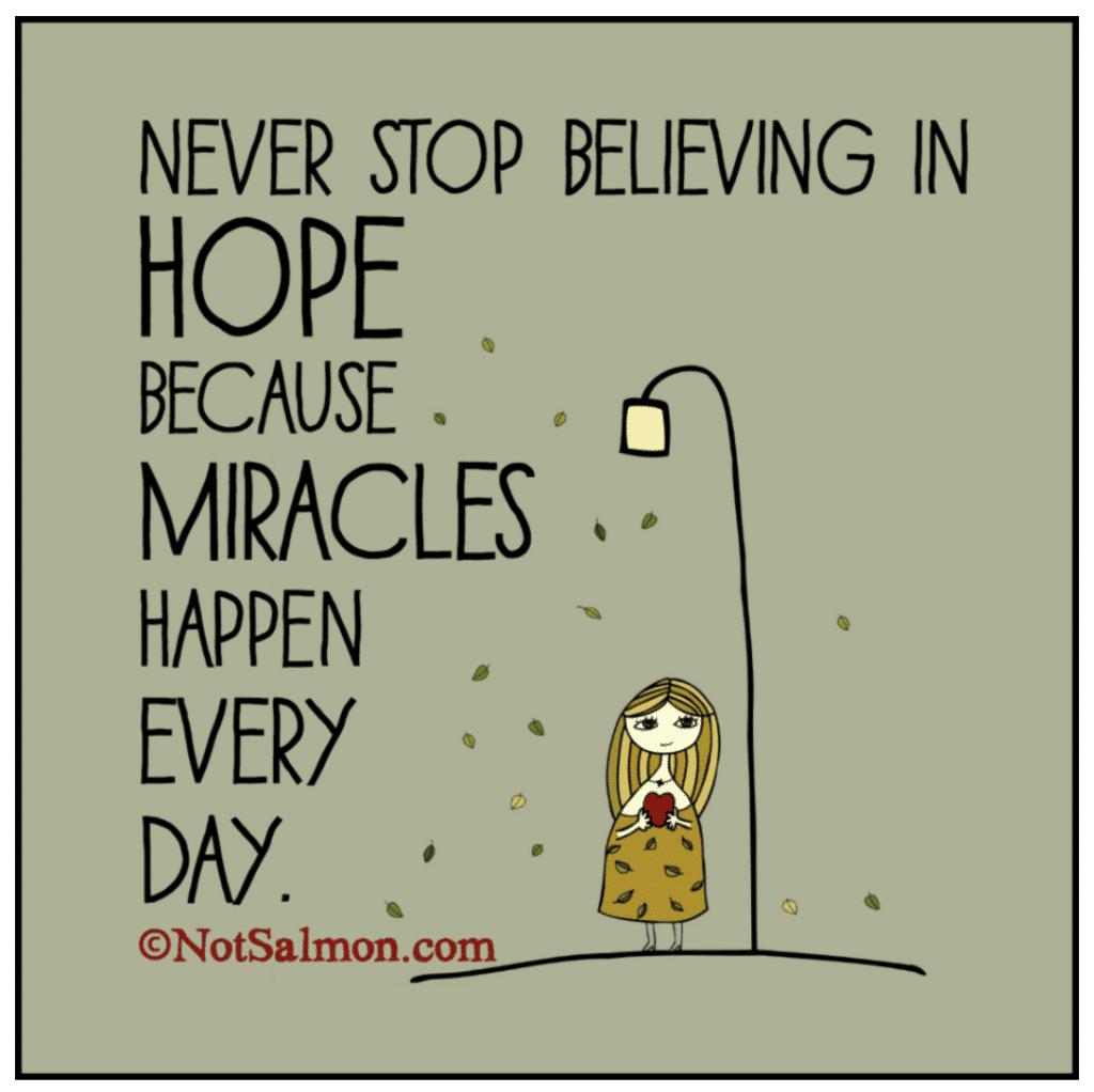 miracle saying