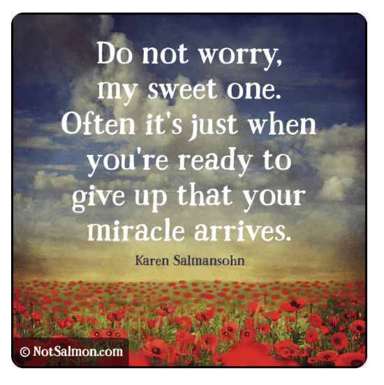 faith in miracles