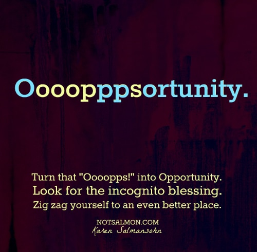 A More Positive Way to See Opportunity In Mistakes