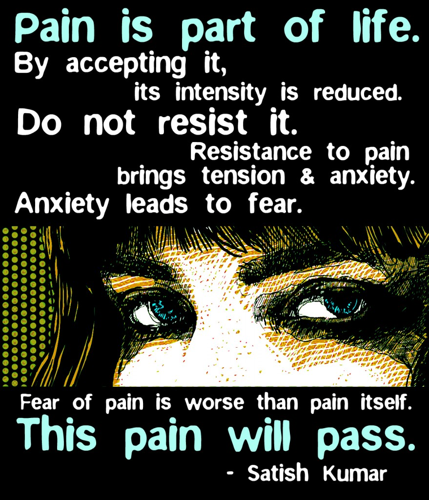 pain a part of life Congenital insensitivity to pain is a  affected individuals never feel pain in any part of  these repeated injuries often lead to a reduced life.