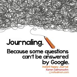 poster journaling google