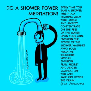 shower meditation Signs That You May Be Lonely