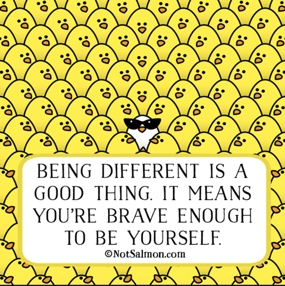 20 Quotes About Being Different And Being Yourself