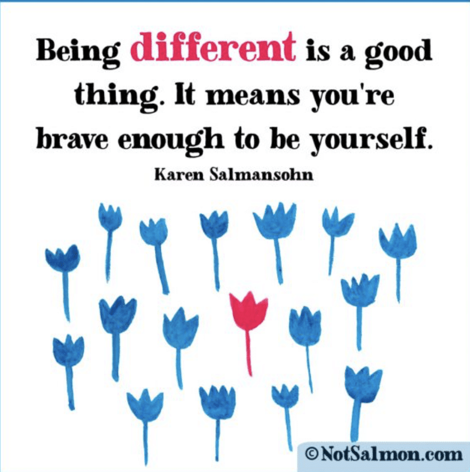 20 Quotes About Being Different, Being Yourself, Being Unique