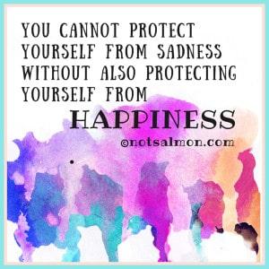 protect yourself from sadnness karen salmansohn