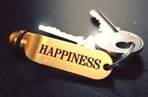 key to happiness image