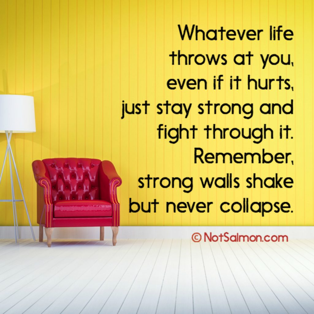 stay strong quote