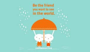 Be the friend - Poster