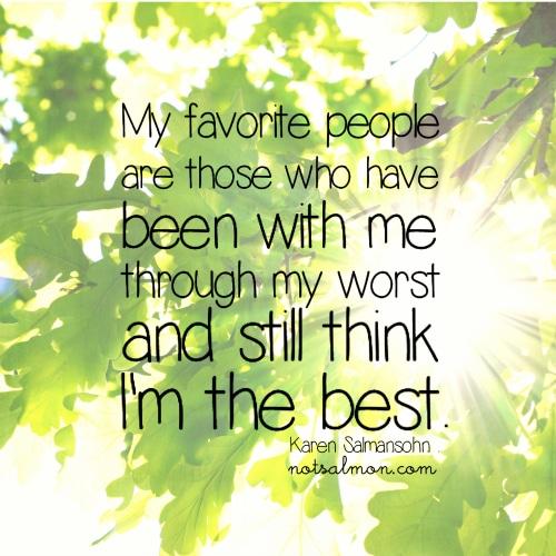 My favorite people