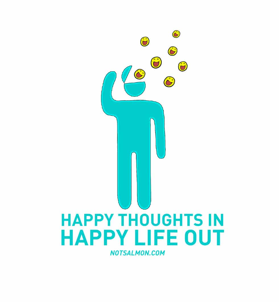 HAPPY THOUGHTS IN salmansohn