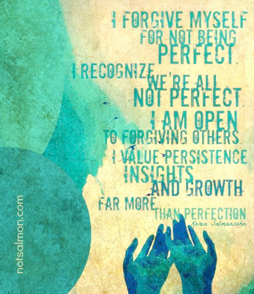 salmansohn imperfect forgive