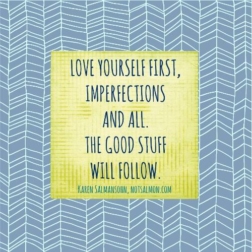 poster imperfect love salmansohn