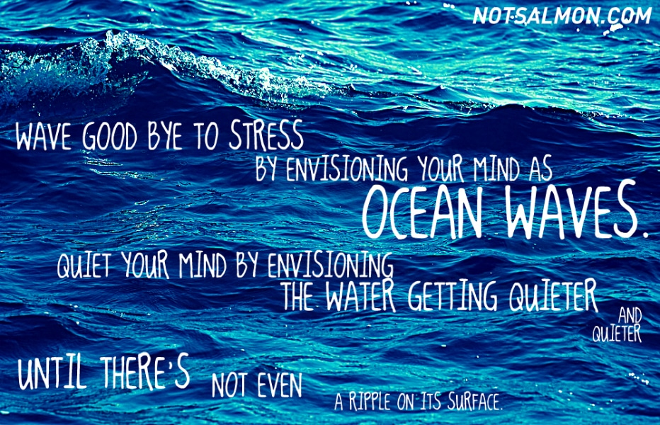 POSTER-MEDITATION OCEAN
