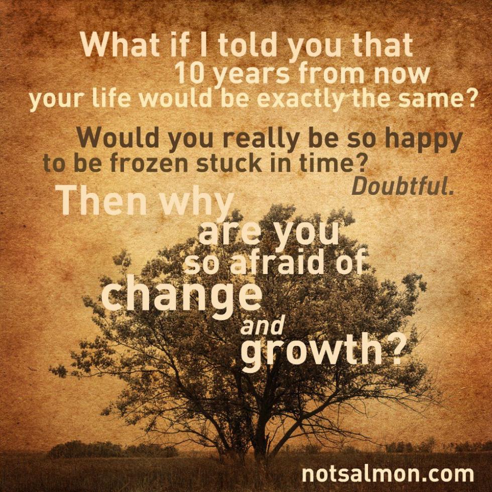salmansohn growth and change