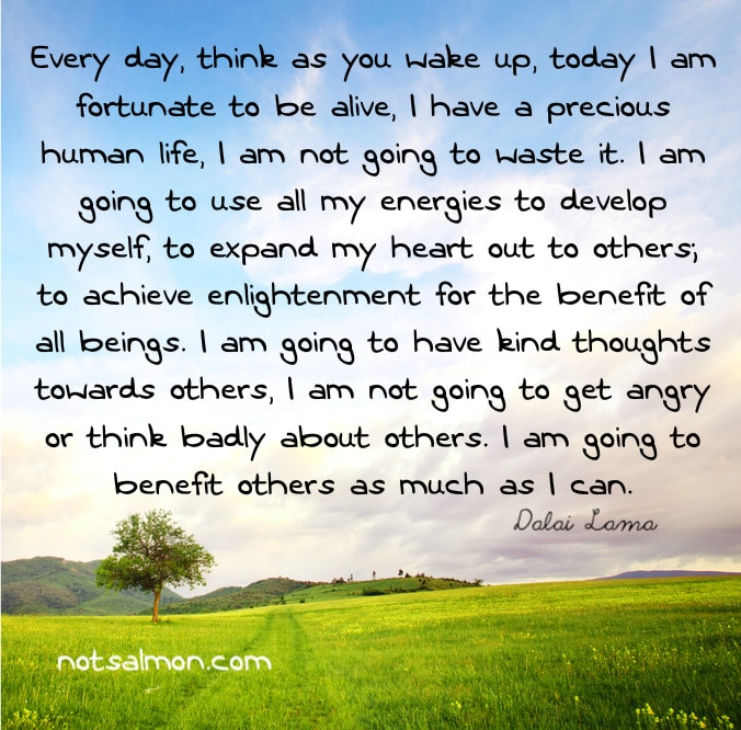 Good Morning Quotes Dalai Lama : Dalai lama quote soul writings