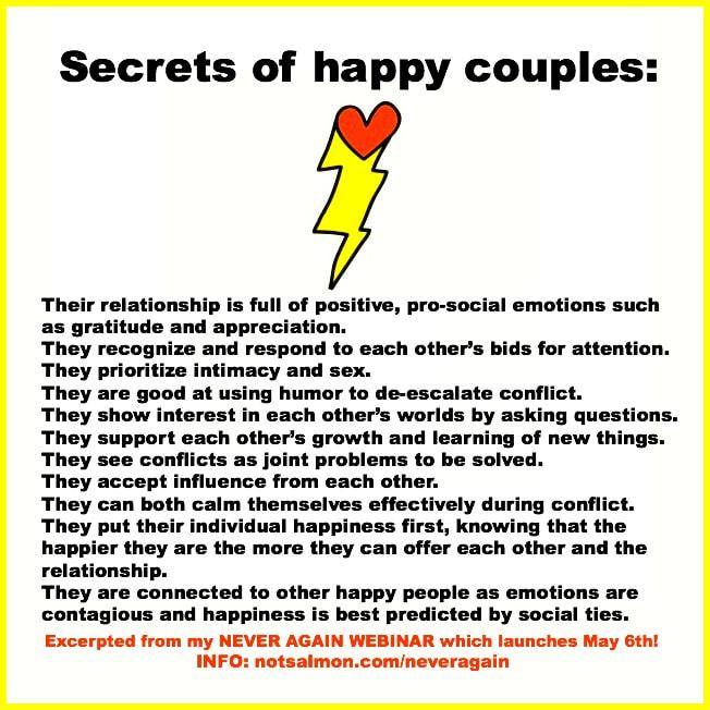 secrets happy couples poster
