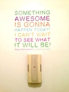 Awesome Door Poster