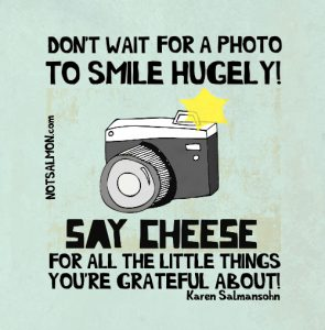 smile at all the good things quote