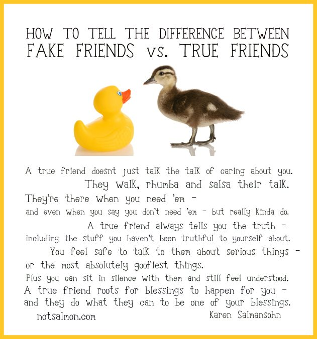 Quotes For True Friends And Fake Friends