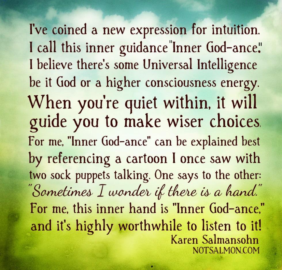 Karen Salmansohn INNER GODANCE BRIGHT