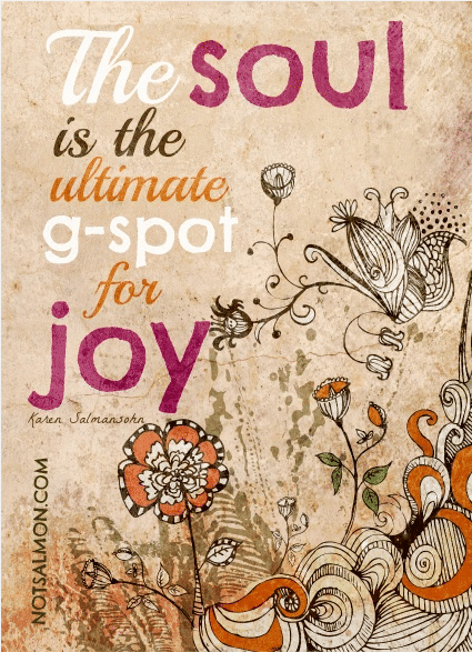 karen salmansohn soul g-spot for joy