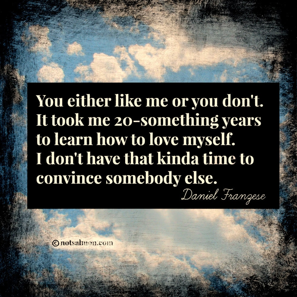You Either Like Me Or You Dont A Quote By Daniel Franceze