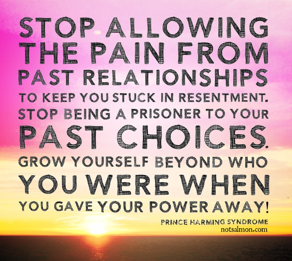 Grow yourself beyond who you were when you gave your power away ...