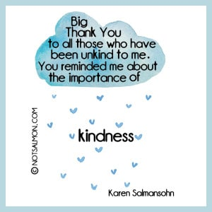 poster thankful unkind kindness
