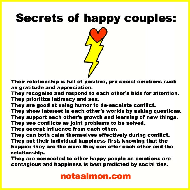 karen salmansohn secrets happy relationship