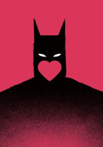 batman symbol inspires healing bad toxic relationships