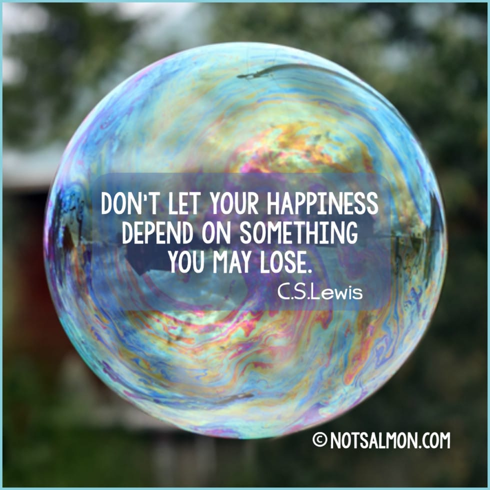 quote happiness lose lewis