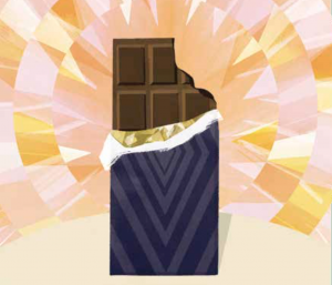 2 minute chocolate meditation