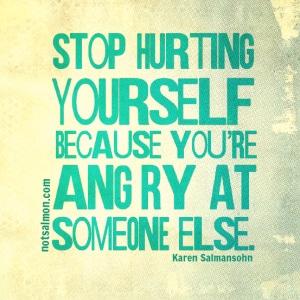 self sabotaging behaviors