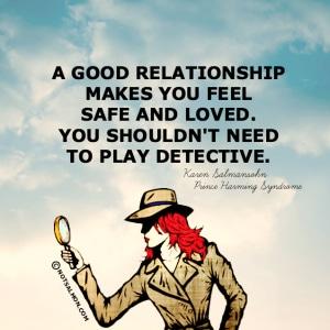 POSTER SAFE DETECTIVE LOVE