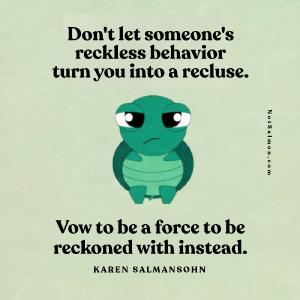 betrayal can make you recluse