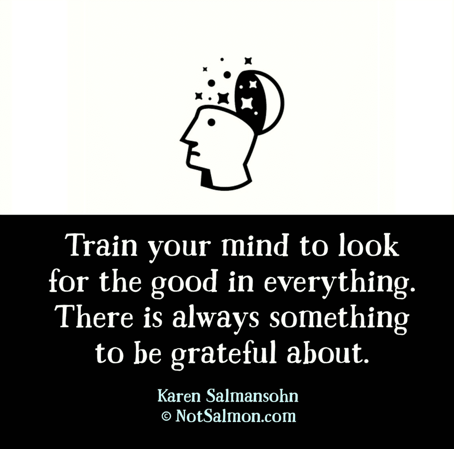 train your mind to be grateful