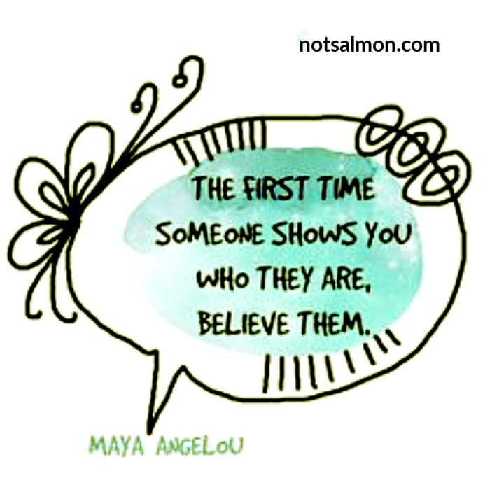 quote maya angelou first time