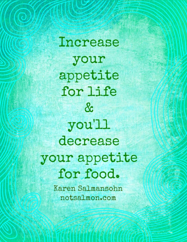 diet motivation to lose weight karen salmansohnn