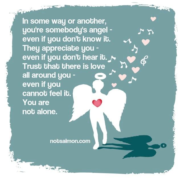 not feeling loved