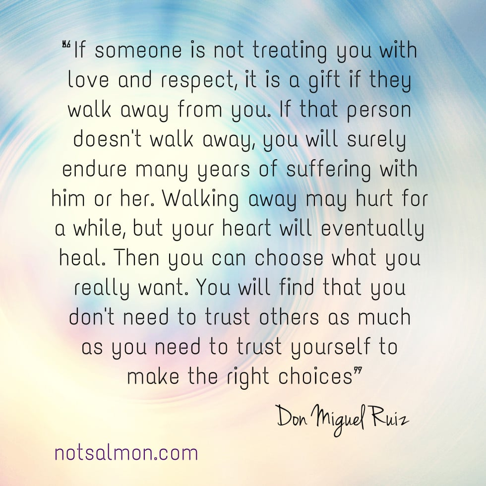 An Inspiring Quote By Don Miguel Ruiz About Letting Go Of Hate