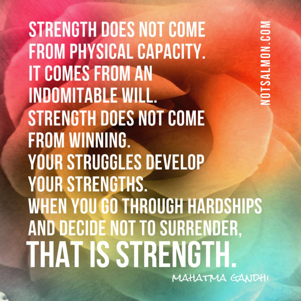 one of my favorite mahatma gandhi quotes