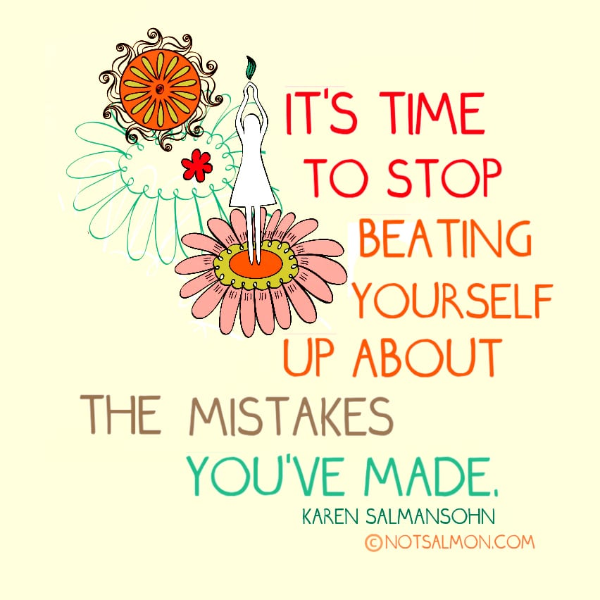 A Quick Reminder If You Made A Mistake That Youre Still Kicking